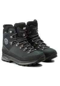 Niebieskie buty trekkingowe Lowa
