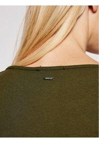 Guess Bluzka W1RP09 K8RT2 Zielony Slim Fit. Kolor: zielony