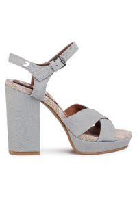 Szare sandały Gioseppo eleganckie