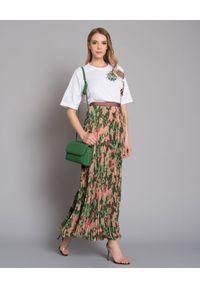 Mr & Mrs Italy - MR & MRS ITALY - Spódnica maxi Camouflage. Kolor: zielony. Materiał: materiał. Styl: klasyczny