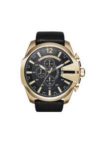 Złoty zegarek Diesel