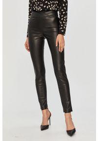 Czarne spodnie materiałowe Patrizia Pepe klasyczne