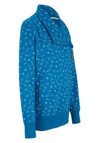 Niebieska bluza bonprix sportowa, długa