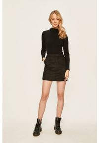 Czarna spódnica Vero Moda na co dzień, casualowa