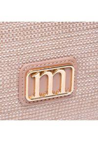 Monnari - Torebka MONNARI - BAG1380-015 Beige. Kolor: beżowy. Wzór: aplikacja. Materiał: skórzane. Styl: klasyczny