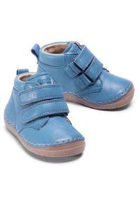 Niebieskie półbuty Froddo z cholewką #6