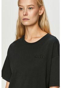 Czarna bluzka Diadora casualowa, na co dzień