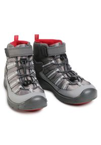 Szare buty zimowe keen sportowe