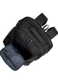 Czarny plecak na laptopa RIVACASE młodzieżowy