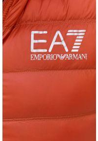 EA7 Emporio Armani - Kurtka/płaszcz PN29Z.8NPQ01. Okazja: na co dzień. Kolor: pomarańczowy. Styl: casual