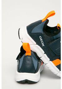 Buty sportowe Geox na rzepy, z cholewką