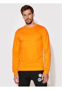 Rage Age Bluza Crewneck 1 Pomarańczowy Slim Fit. Kolor: pomarańczowy