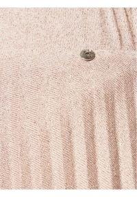 Nissa Spódnica plisowana F12078 Różowy Regular Fit. Kolor: różowy