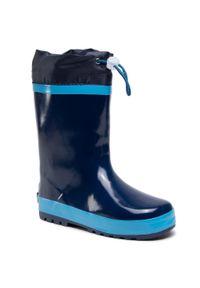 Niebieskie kalosze Playshoes marine