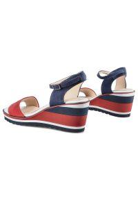 Czerwone sandały DAMISS