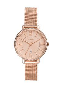 Złoty zegarek Fossil