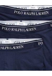 Ralph Lauren - RALPH LAUREN - Bokserki 3-pack. Kolor: niebieski. Materiał: bawełna, materiał
