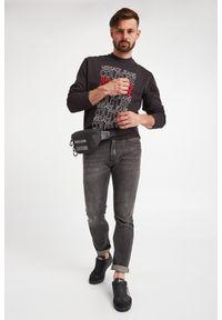 Versace Jeans Couture - NERKA VERSACE JEANS COUTURE. Materiał: materiał. Wzór: aplikacja. Styl: elegancki #3