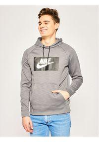 Nike Bluza Optic Fleece BV2989 Szary Regular Fit. Kolor: szary