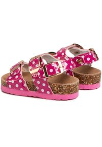 Różowe sandały Colors Of California na lato