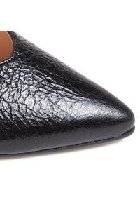 Czarne półbuty Baldaccini eleganckie, z cholewką