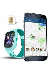 Zielony zegarek CALMEAN smartwatch