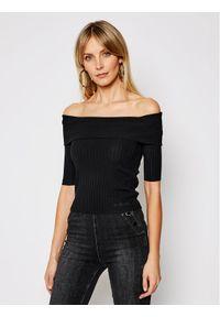 Guess Sweter Dayna W1GR0O Z2U00 Czarny Slim Fit. Kolor: czarny