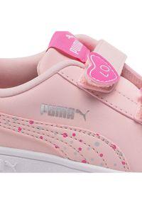 Puma Sneakersy Smash v2 Cndy V Ps 373187 01 Różowy. Kolor: różowy