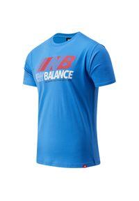 Koszulka sportowa New Balance z klasycznym kołnierzykiem
