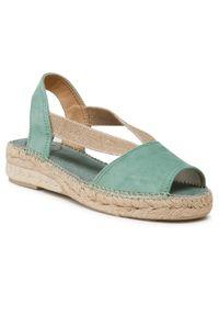 Zielone sandały Toni Pons