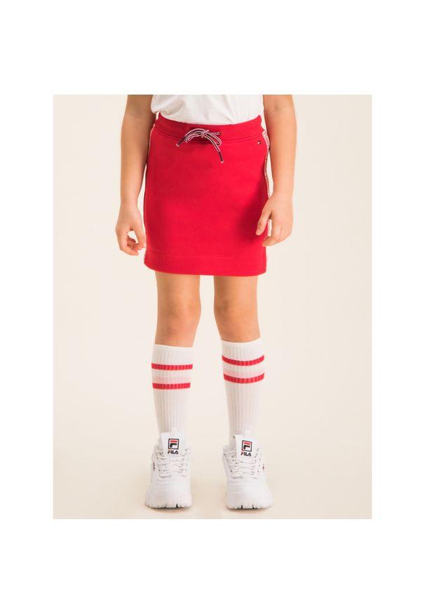 Czerwona spódniczka TOMMY HILFIGER