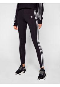 Adidas - adidas Legginsy adicolor Classics 3-Stripes GN4504 Czarny Tight Fit. Kolor: czarny