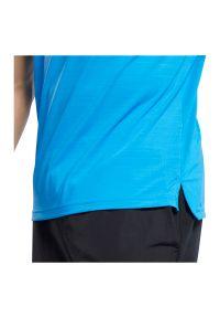 Koszulka sportowa męska Reebok Workout Ready FU2904. Materiał: materiał, dzianina, nylon, elastan. Długość rękawa: krótki rękaw. Długość: krótkie. Sport: fitness