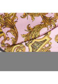 Różowa czapka z daszkiem Versace Jeans Couture
