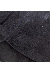 Nessi - Mokasyny NESSI - 20703 Granat W2. Okazja: na co dzień. Kolor: niebieski. Materiał: skóra, zamsz. Szerokość cholewki: normalna. Wzór: aplikacja. Sezon: lato. Obcas: na obcasie. Styl: klasyczny, casual #4