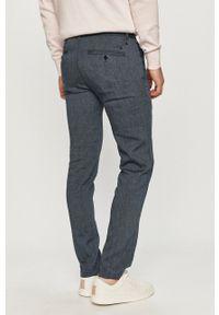 Marc O'Polo - Spodnie. Kolor: niebieski. Materiał: tkanina. Wzór: gładki