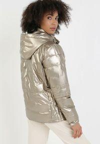 Brązowa kurtka przejściowa Born2be #6