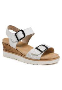 Białe sandały Remonte