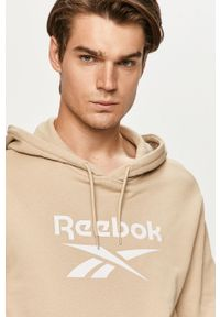 Bluza nierozpinana Reebok Classic z nadrukiem, na co dzień, z kapturem