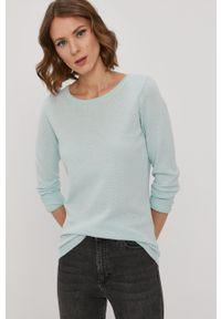 Vero Moda - Sweter. Kolor: turkusowy
