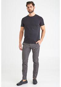 Szare spodnie JOOP! Jeans w kolorowe wzory