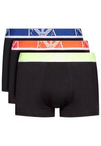 Czarne bokserki Emporio Armani Underwear