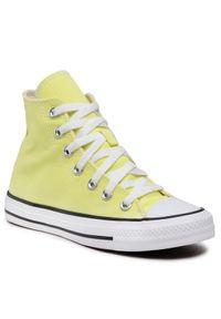 Żółte trampki Converse