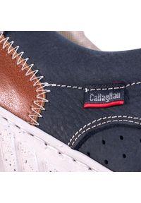Niebieskie półbuty Callaghan z cholewką