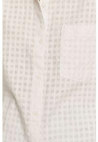 Biała koszula Levi's® z krótkim rękawem, casualowa, gładkie