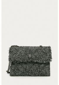 Kurt Geiger London - Torebka Kensington. Kolor: szary. Rodzaj torebki: na ramię