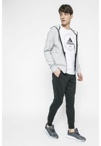 Czarne spodnie dresowe adidas Performance ClimaLite (Adidas)