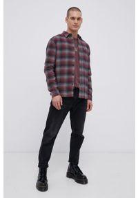 Premium by Jack&Jones - Longsleeve bawełniany. Okazja: na co dzień. Kolor: czerwony. Materiał: bawełna. Długość rękawa: długi rękaw. Wzór: nadruk. Styl: casual