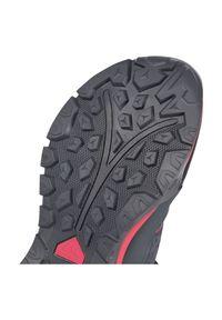 Buty trekkingowe damskie McKinley Asgrad Mid AQX 412484. Nosek buta: okrągły. Materiał: guma, materiał. Szerokość cholewki: normalna. Sezon: lato