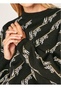 Czarny sweter klasyczny MSGM